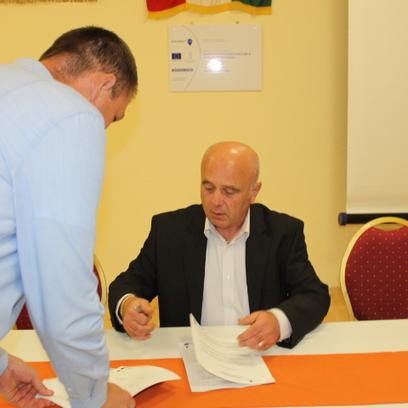 Megállapodás aláírás